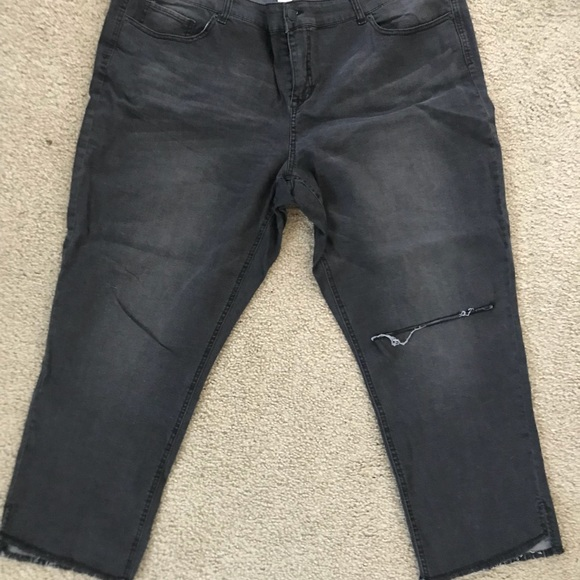 Maurices Denim - Maurices DenimFlex +size cropped jeggings in black